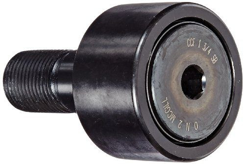 """McGill CCF1 3/4SB Cam Follower, Crowned, Sealed, Inch, Steel, 1-3/4"""" Roller"""