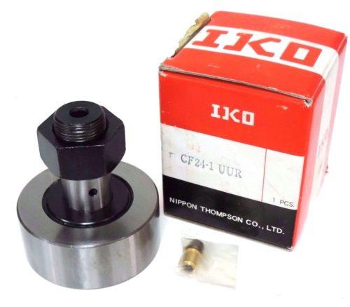 NIB IKO CF24-1 UUR CAM FOLLOWER TYPE CF, CF241, CF241UUR