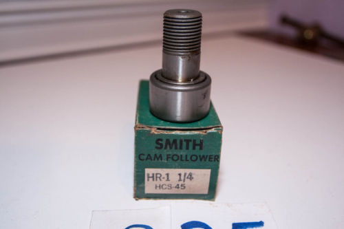"""""""NEW  OLD"""" Smith Cam Follower Bearing HR-1-1/4 HCS-45   Lot of 2"""