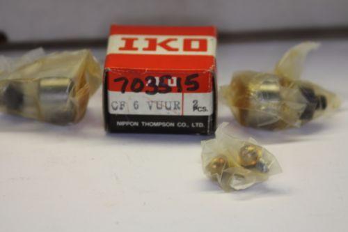 IKO CF CF 6 VUUR CAM FOLLOWER BEARINGS 2pcs