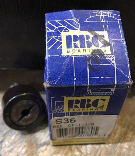 S36 RBC Bearings S-36 CF-1-1/8 Cam Follower