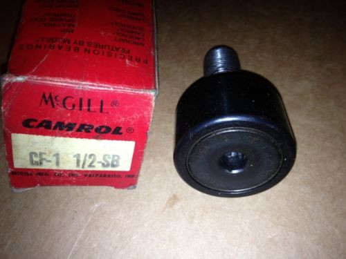 McGill Camrol Cam Follower Bearing CF-1 1/2-SB CF112SB New in Box
