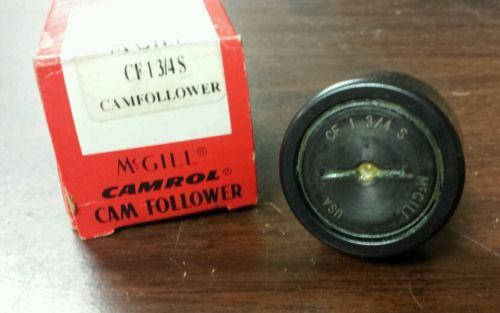 *NEW*  MCGILL  CF 1 3/4 S   Cam Follower    CF13/4S