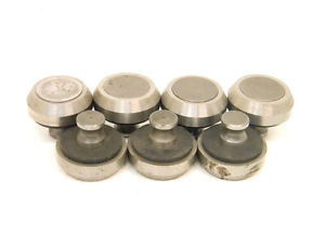 "7 USED ROLLER BEARING CAM FOLLOWERS 1.745""-OD (.688"" stud) NEEDLE BEARING"