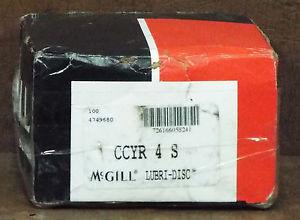 1 NEW MCGILL CCYR-4-S LUBRI-DISC CAM YOKE FOLLOWER ***MAKE OFFER***