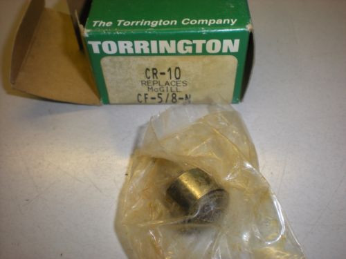 Torrington Model CR-10 Cam Follower - Stud Type - Flat - NIB