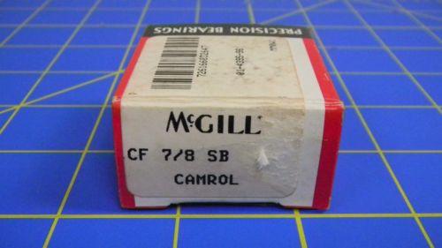 McGill, Camrol, Cam Follower, CF 7/8 SB, NIB