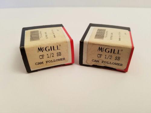 Set of 2 McGill CF 1/2 SB Flat Cam Follower
