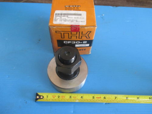 NEW THK CF30 2 CAM FOLLOWER BEARING TRANSMISSION METALWORKING TOOLING