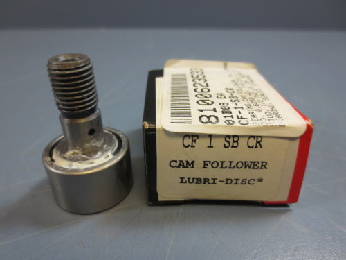 "1 Nib McGill CF-1-SB-CR Cam Follower Bearing RD 1.0000"" RW .6250"" SD .4375"""