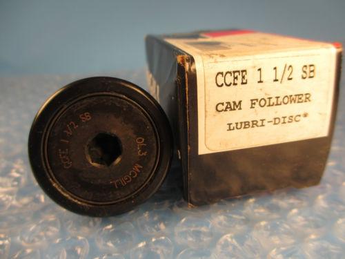McGill CCFE 1 1/2 SB, CCFE1 1/2, SB CAMROL® Stud Cam Follower
