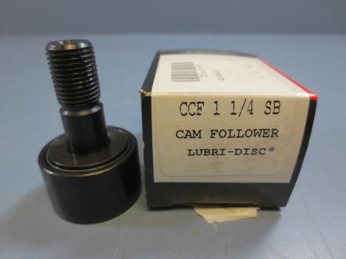 "1 Nib McGill CCF-1-1/4-SB Cam Follower Bearing RD 1.2500"" RW .7500"" Stud D .5000"