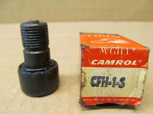 1 NIB MCGILL CFH-1-S CFH1S CAM FOLLOWER NEEDLE ROLLER BEARING