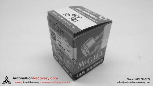 MCGILL MCF 80 SBX CAM FOLLOWER BEARING, NEW #113670