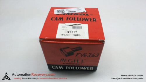 MCGILL FCF 3 1/2 PAT NO. 4043620 CAM FOLLOWER, NEW #113542