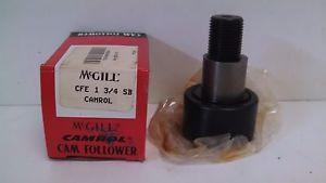 NEW OLD STOCK! MCGILL CAMROL CAM FOLLOWER CFE-1-3/4-SB
