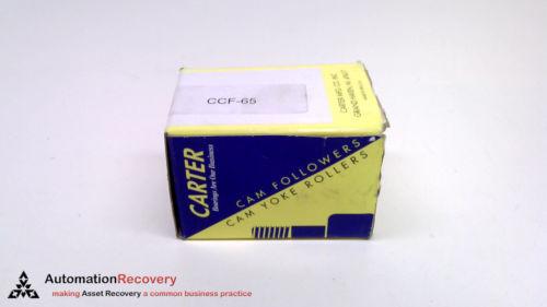 CARTER CNB-64-S, STANDARD SLOTTED SEALED CAM FOLLOWER, ROLLER DIAMETER,  #221521
