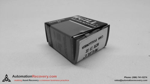 MCGILL MCFE 19 SX CAM FOLLOWER 19 X 8 X 11MM, NEW #113676