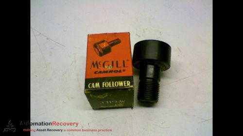 """MCGILL CFH 1 3/8 S CAM FOLLOWER 1 3/8"""" ROLLER DIAMETER 3/4"""" STUD, NEW #154061"""