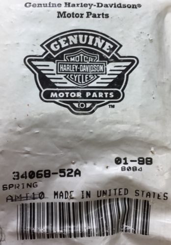 Harley-Davidson NOS OEM P/N 34068-52A Shift Cam Follower Springs QTY 7