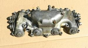 USED HONDA CB350F CAM COVER WITH CAM FOLLOWERS POSSIBLY CB400F ALSO