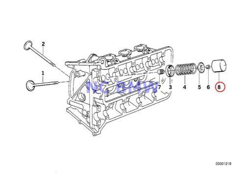 BMW Genuine Motorcycle Timing Gear Cam Follower 2.65MM 89V1 89V2 89V3 K41