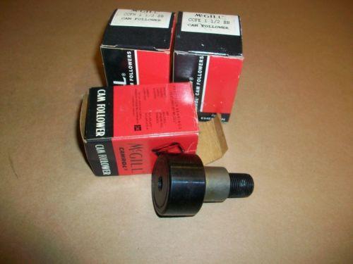 3pc McGill Cam Follower CCFH 1 1/2  CCFE 1 /2    NEW IN BOX