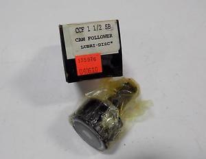 MCGILL LUBRI-DISC  CAM FOLLOWER CCF 1 1/2 SB NIB