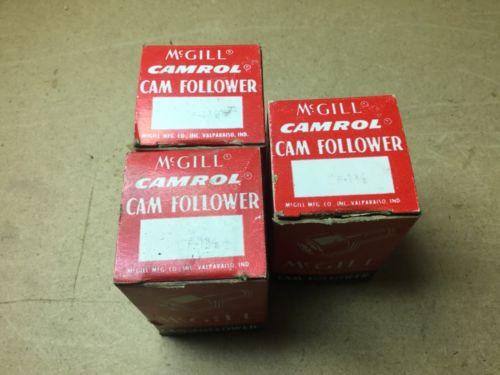 MCGILL CAM FOLLOWER BEARING CF-1-3/8, New Old Stock - LOT OF 3