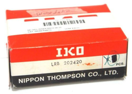 LOT OF 4 NEW IKO LRB 202420 INNER RING CAM FOLLOWER LRB202420