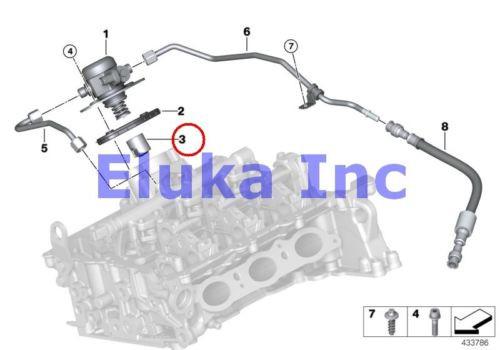 BMW Genuine Cylinder Head Fuel Injection Housing Cam Follower E70 E70N E71 E72 E