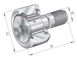 INA Kurvenrolle KR62-X-PP-A