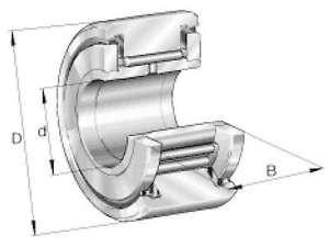 INA Stützrolle NATR12-PP-A