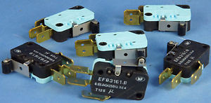 Netprinter Cutter Microswitch 002844011 Cam Follower Type, Standard Size