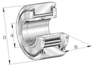 INA Stützrolle NATV10-X-PP-A