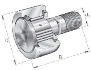 INA Kurvenrolle KRV90-X-PP-A