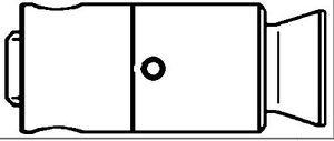 MERCEDES E240 Hydraulic Tappet / Lifter 2.4,2.6 97 to 05 Cam Follower 1130500080