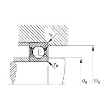Deep groove ball bearings - 6205-2Z