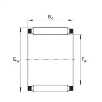 Needle roller and cage assemblies - K23X35X16-TV