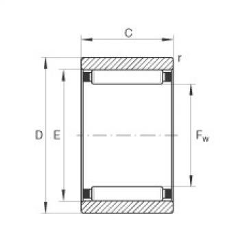 Needle roller bearings - RNAO30X40X17-XL