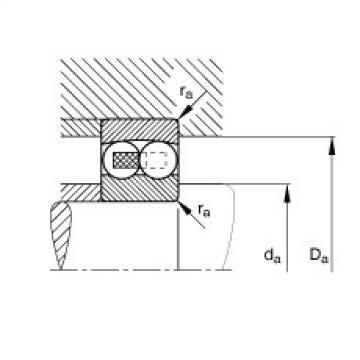 Self-aligning ball bearings - 1205-TVH