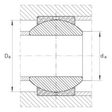 Radial spherical plain bearings - GE18-PB