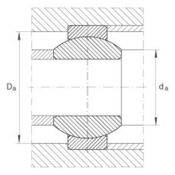 Radial spherical plain bearings - GE12-FO
