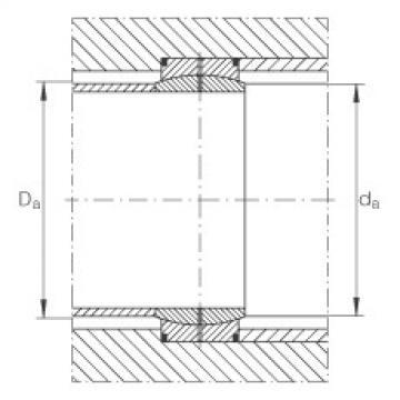 Radial spherical plain bearings - GE850-DO