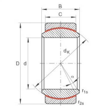Radial spherical plain bearings - GE20-UK