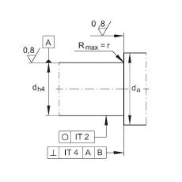 Angular contact ball bearing units - ZKLFA0850-2RS