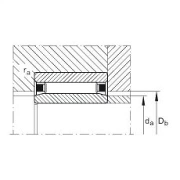 Needle roller bearings - NAO30X45X17-XL