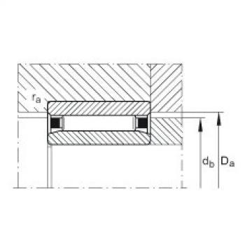 Needle roller bearings - NAO70X100X30-XL
