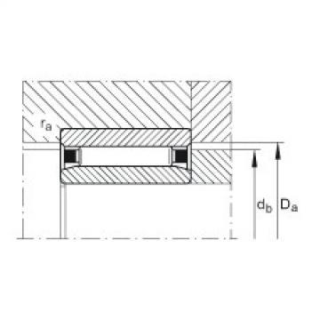 Needle roller bearings - NAO80X110X30-XL