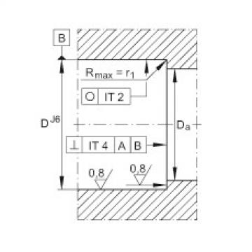 Axial angular contact ball bearings - ZKLN1747-2RS-XL